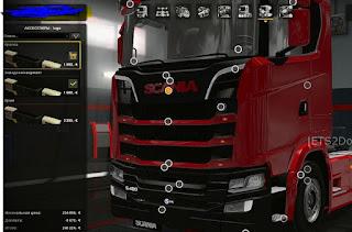 Euro Truck Simulator 2 Accessory Mod