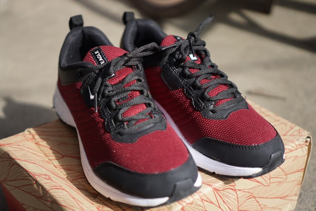 Review Running Shoes Eagle Charlote