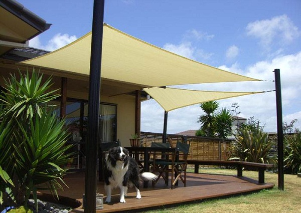 Unique Home Designs Outdoor Shade Canopy To Get Stylish Exterior