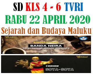 Kunci Jawaban Soal Apa nasihat yang terdapat dalam lagu Rasa Sayange, Sejarah Budaya Maluku , Belajar dari Rumah di TVRI untuk kelas 4,5,dan 6