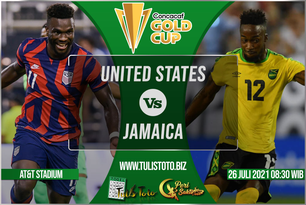 Prediksi United States vs Jamaica 26 Juli 2021