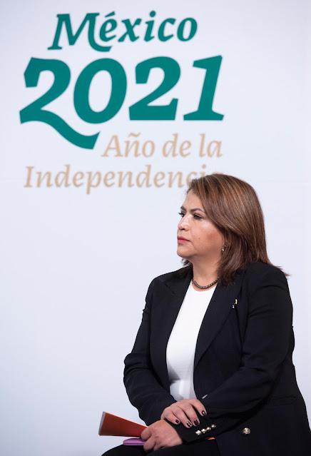 Fabiola Alanís Sámano, titular de la Comisión Nacional para Prevenir y Erradicar la Violencia contra las Mujeres (Conavim)