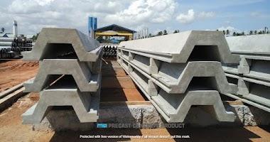 Jual Sheet Pile Beton #1 di Tebingtinggi • 0819 3299 8507 • MegaconBeton.com