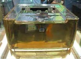 Gold platted HP LaserJet 1160