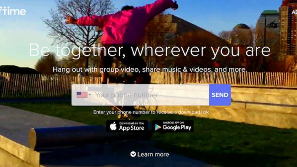 تطبيق Airtime لدردشة الفيديو الجماعية مع الأصدقاء