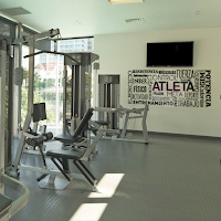 vinilo decorativo fitness,gimnasio,atleta,gym