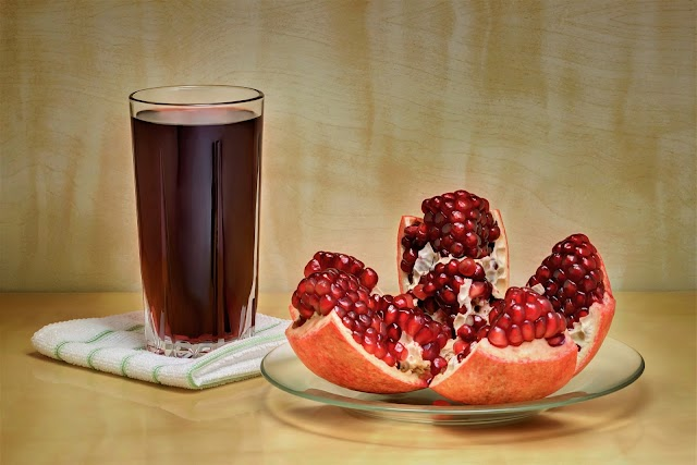 pomegranate juice good for