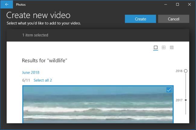 إضافة مقاطع فيديو إلى مشروع.