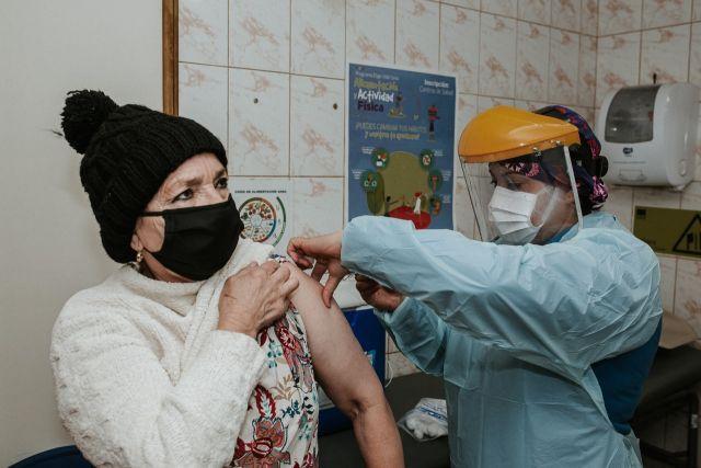Vacunación en Río Bueno