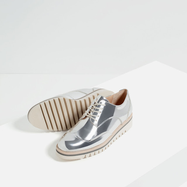 Plateados Zapatos Zara Zara Plateados Zapatos Zapatos wfYfaH