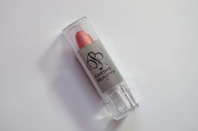 earths beauty lipstick summer quartz