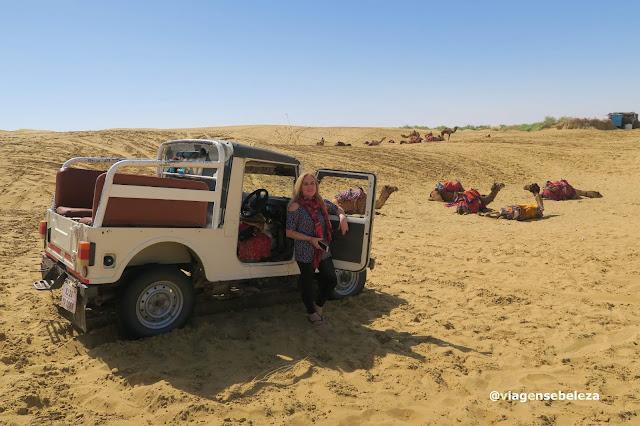 Jeep safari em Jaisalmer