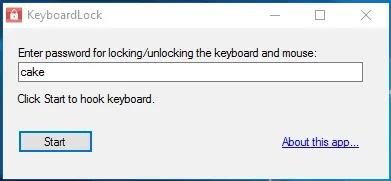 تعطيل قفل لوحة المفاتيح