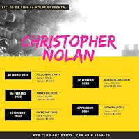 CICLO DE CINE de Christopher Nolan en Bogotá