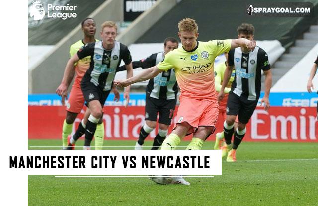 Manchester City vs Newcastle 27 Desember 2020