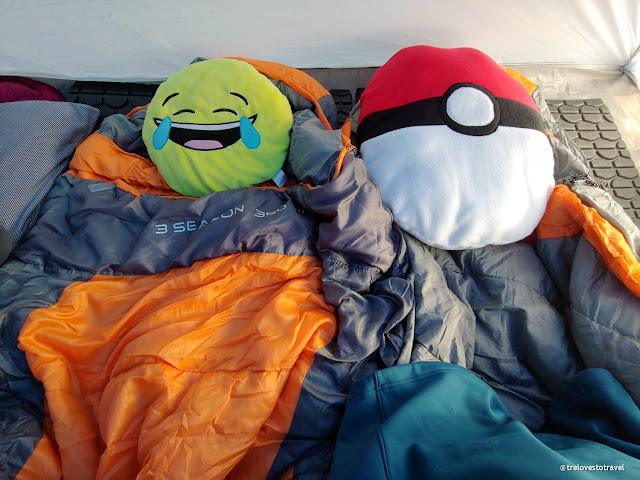 Sleeping bag for camping warm durable