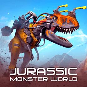 Jurassic Monster World: Dinosaur War 3D FPS Unlimited (Ammo - Rocket) MOD APK