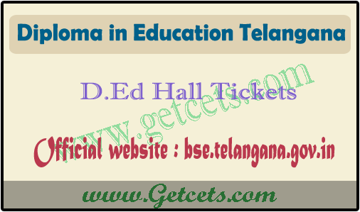 TS Ded 1st year hall tickets 2020 available on bse telangana