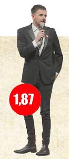 Cuánto mide Sergio Lagos