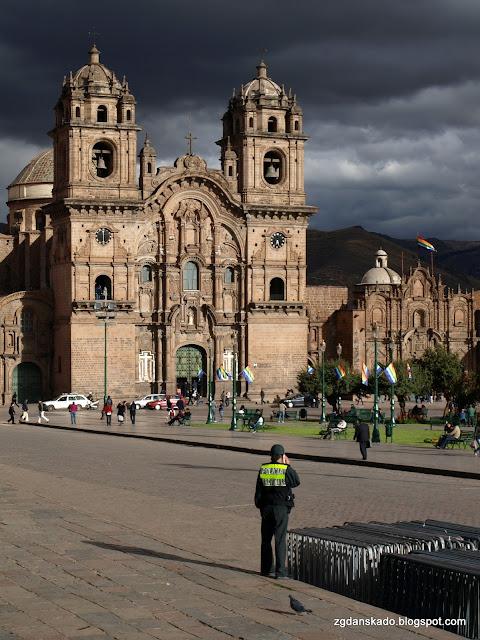 Cuzco - Kościół Jezuitów