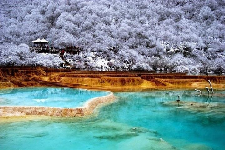 Huanglong, Pemandangan Paling Menakjubkan di Cina