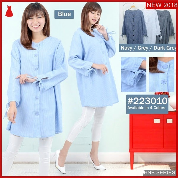HNB252 Model Humira Layer Peplum Top Ukuran Besar BMG Shop