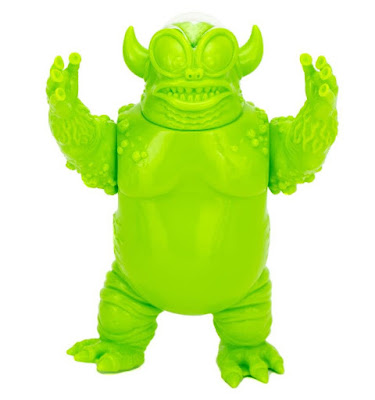The Greeen Kaaarg Vinyl Figure by Jeff Lamm x Clutter