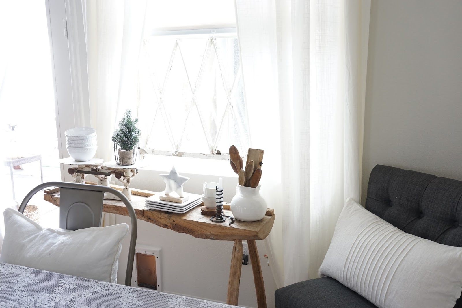 Cozy Dining Space: Table And Chairs- Restoration Hardware Outlet