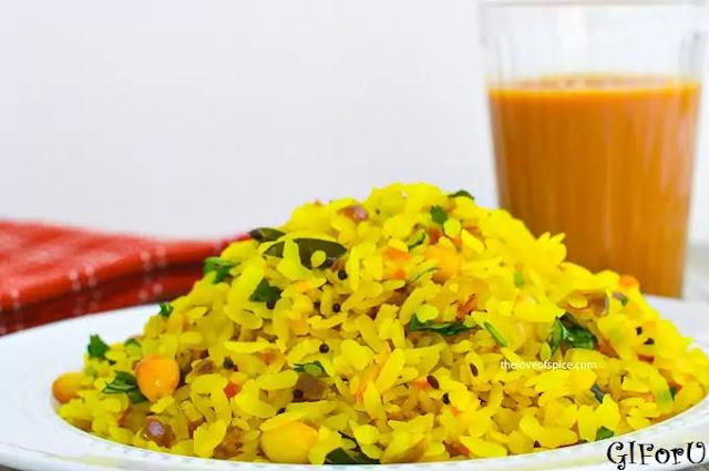 poha-recipe-How to make poha at GIforu