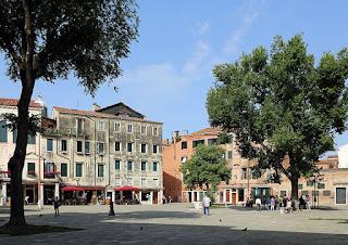The Campo di Ghetto Nuovo, heart of the Ghetto district of the Cannaregio sestiere