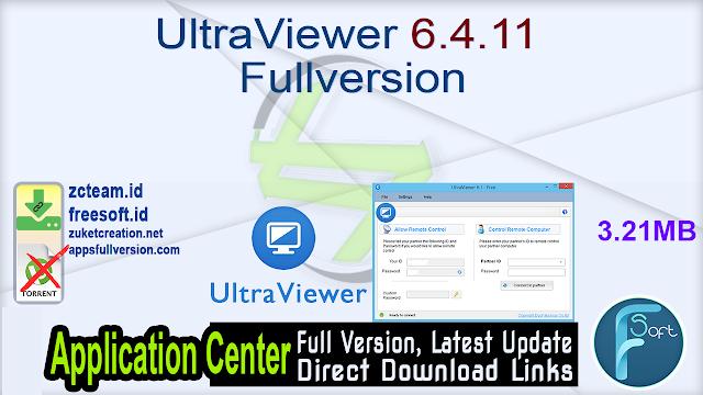 UltraViewer 6.4.11 Fullversion