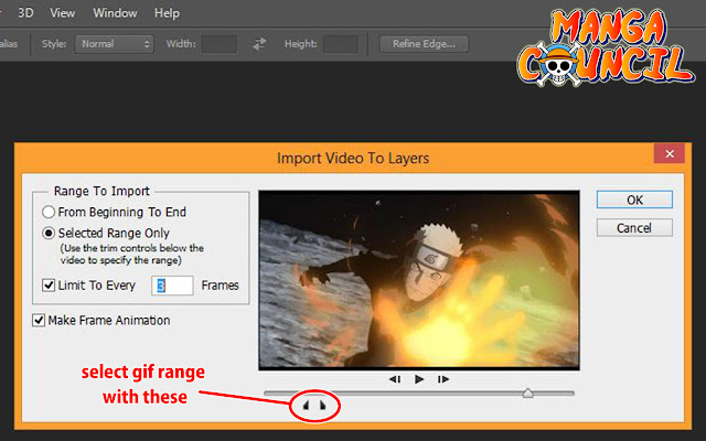 How to Make a GIF from Video with Photoshop 03