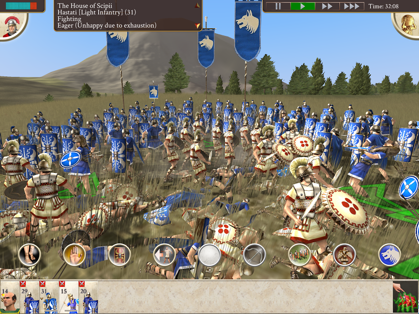 Review: Rome: Total War (Apple iPad) - Digitally Downloaded
