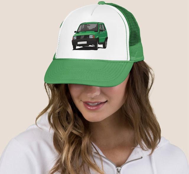 Fiat Panda 45 trucker hats