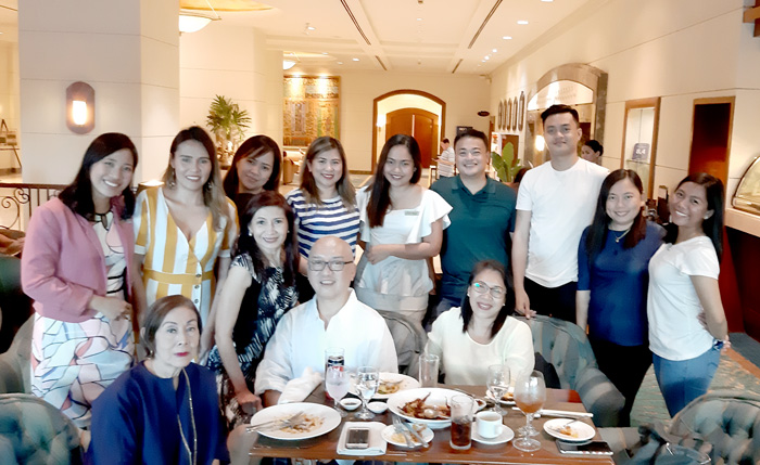 Davao online and media friends during the launch of   Marco Polo Davao's signature dishes.