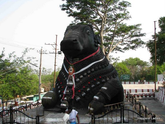 one day trip from bangalore Mysore Nandi Bull Temple