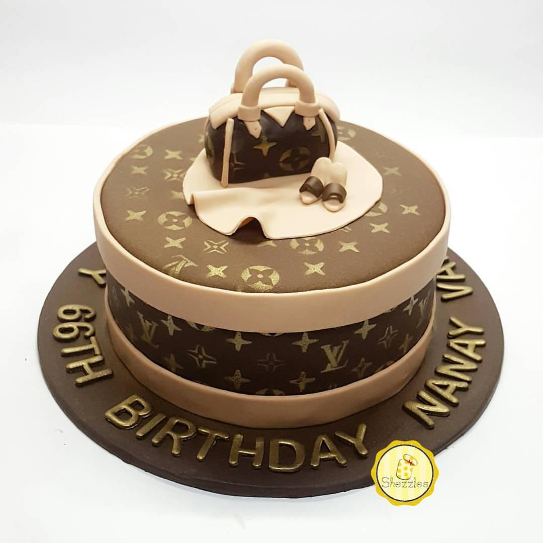 Shezzles Dessert In A Jar Louis Vuitton Cake