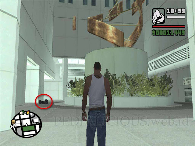 Lokasi Camera (Kamera) di Downtown GTA San Andreas