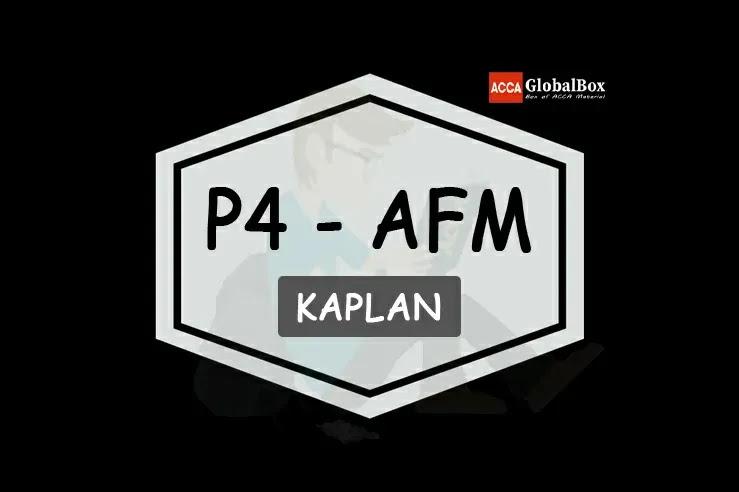 P4 - KAPLAN Exam Kits, Accaglobalbox, acca globalbox, acca global box, accajukebox, acca jukebox, acca juke box,