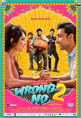 Wrong No 2 2019 Urdu 480p WEB HDRip 400Mb x264 ESub