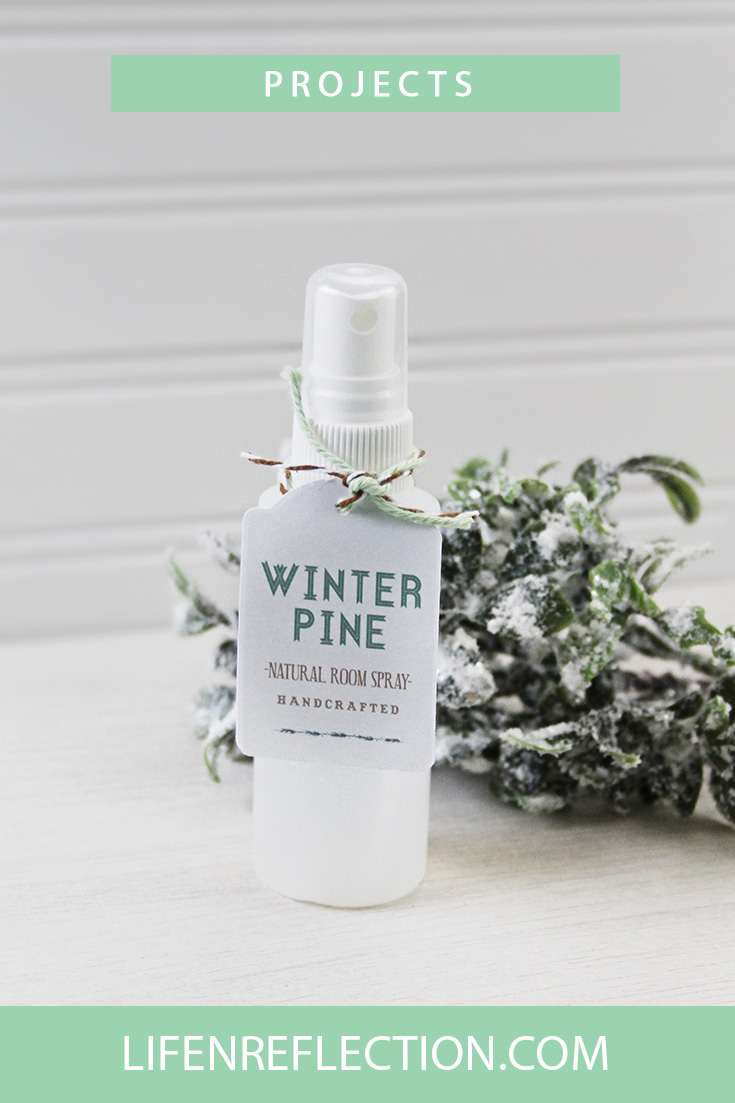 Make Winter Pine Room Spray