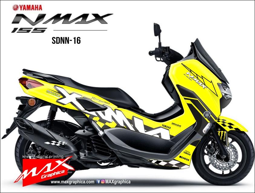 Stiker decal new nmax fullbody block printing desain suka suka
