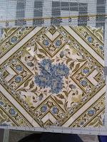 ProsperityStuff Square Kaleidoscope with Jinny Beyer fabric