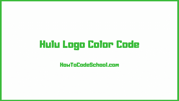 Hulu Logo Color Code