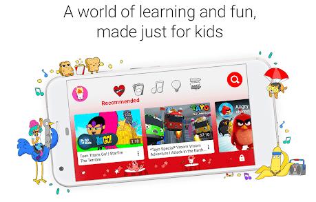تحميل تطبيق يوتيوب للأطفال لهواتف الأندرويد