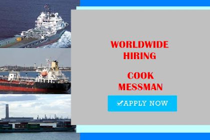 Seaman Jobs Rank Cook, Messman