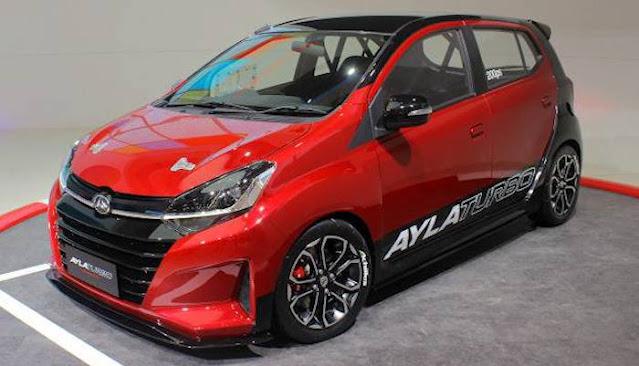 Spesifikasi dan Harga Daihatsu Ayla Turbo