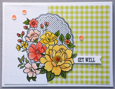 Heart's Delight Cards, Lovely Lattice, Sale-A-Bration 2019, Stampin' Up!