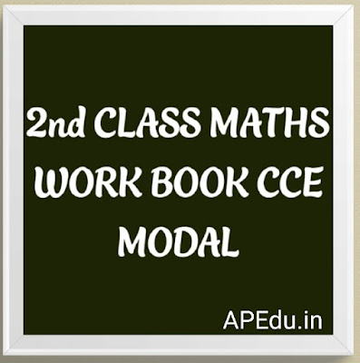 2nd CLASS. MATHS WORK BOOK CCE MODAL