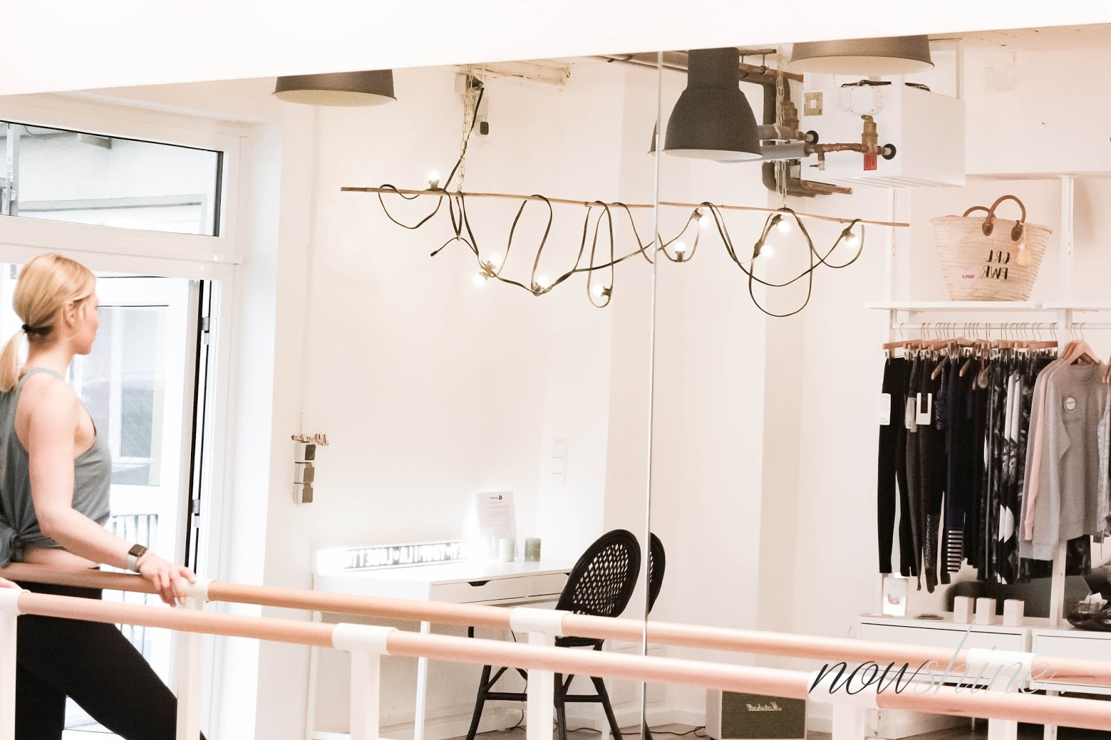 Ballett Barre Workout bei Youpila in Düsseldorf- Fitnessblog über 40